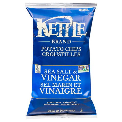 Kettle Chips Sea Salt & Vinegar 220g