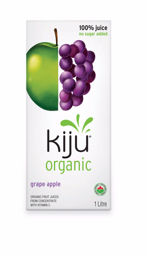 Kiju Organic Grape Apple Juice (1L)