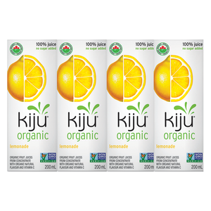 Kiju Organic Lemonade Juice Boxes (4x200ml)