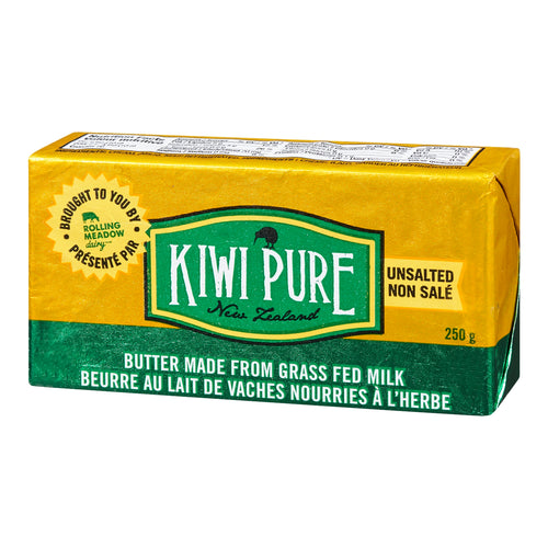 Rolling Meadow Kiwi Pure Grass Fed Butter (250g)