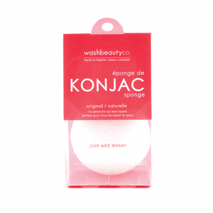 Wash Beauty Co. Konjac Facial Sponge