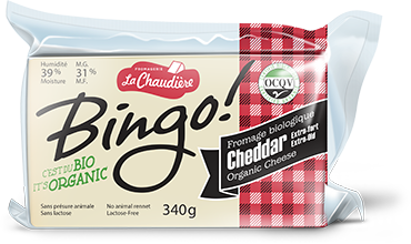 La Chaudiere Extra Old Cheddar Cheese 340g