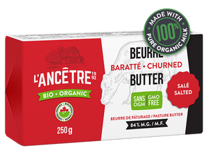 L'Ancetre Churned Salted Butter (250g)