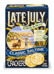 Late July Organic Saltine Crackers (170g)