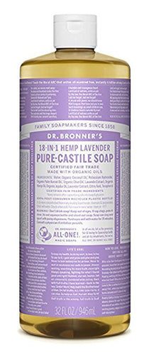 Dr. Bronner's Liquid Lavender Soap 944ml