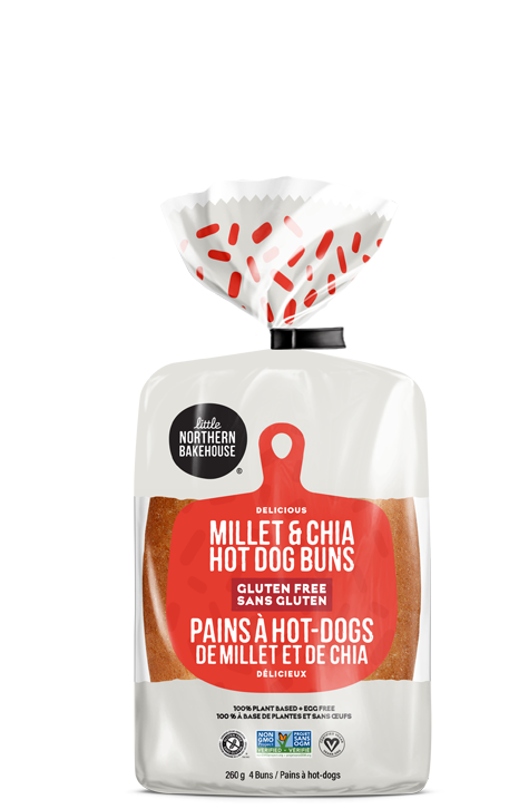 Little Northern Bakehouse Gluten Free Hot Dog Buns (260g)