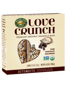 Nature's Path Love Crunch Dark Chocolate Macaroon Granola Bars (6 Bars)