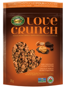Nature's Path Love Crunch Dark Chocolate & Peanut Butter Granola (325g)