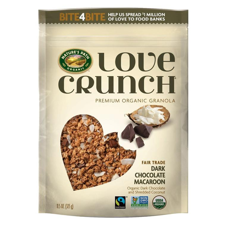 Nature's Path Love Crunch Dark Chocolate Macaroon Granola (700g)