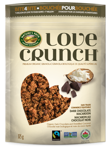 Nature's Path Love Crunch Dark Chocolate Macaroon Granola (325g)