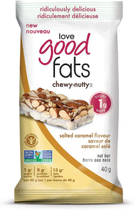 Love Good Fats Chewy-Nutty Salted Caramel 40g