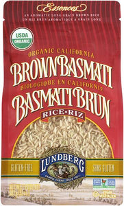 Lundberg Organic Brown Basmati Rice (907g)