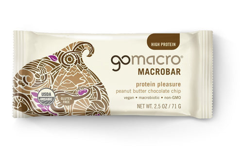 GoMacro Bar Peanut Butter Chocolate Chip (60g)