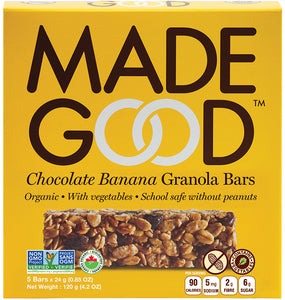 MadeGood Chocolate Banana Granola Bars (5 Bars)