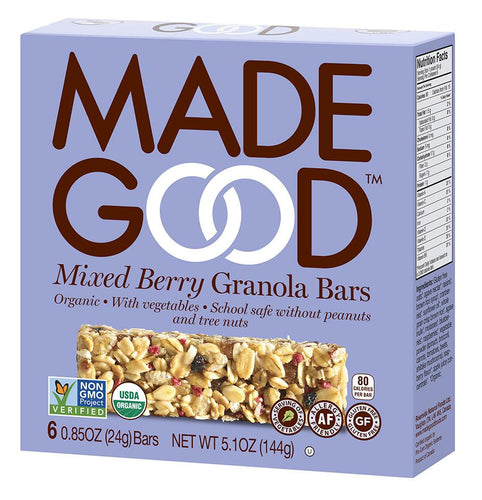 MadeGood Mixed Berry Granola Bars (5 Bars)