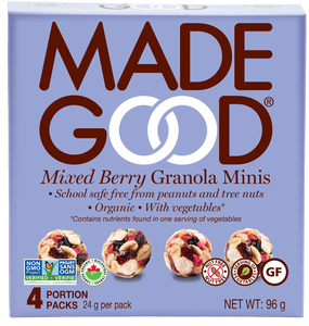 MadeGood Mixed Berry Granola Minis (4 Packs)