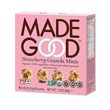 MadeGood Strawberry Granola Minis (4 Packs)