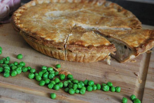 Chef Malcolm's Chicken, Leek, Bacon and Walnut Pie (Family Size)