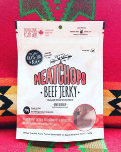 MeatChops Grass-Fed Beef Jerky (70g)
