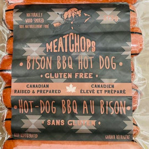 MeatChops Bison BBQ Hot Dogs (375g)
