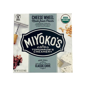 Miyoko's Vegan Cheese Wheel Classic Chive (184g)