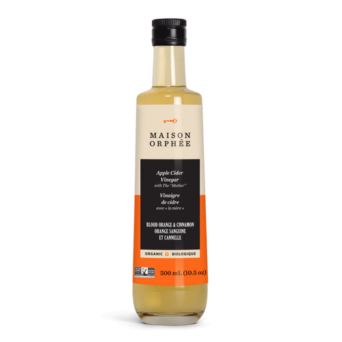 Maison Orphee Blood Orange & Cinnamon Apple Cider Vinegar (500ml)