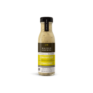 Maison Orphee Lemon Poppy Seed Vinaigrette 250ml