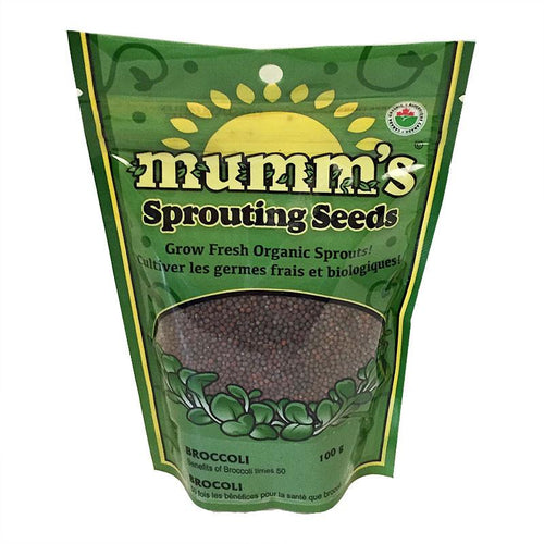 Mumm's Sprouting Seeds Broccoli (100g)
