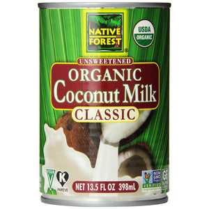 Native Forest Organic Unsweetened Coconut Milk Classic (398ml)