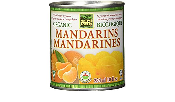 Native Forest Organic Mandarins (284ml)