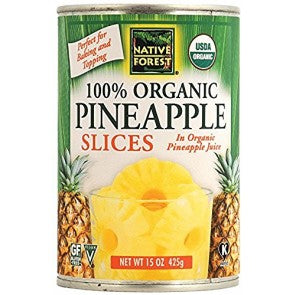 Native Forest Organic Pineapple Slices (398ml)
