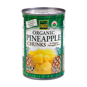Native Forest Organic Pineapple Chunks (398ml)