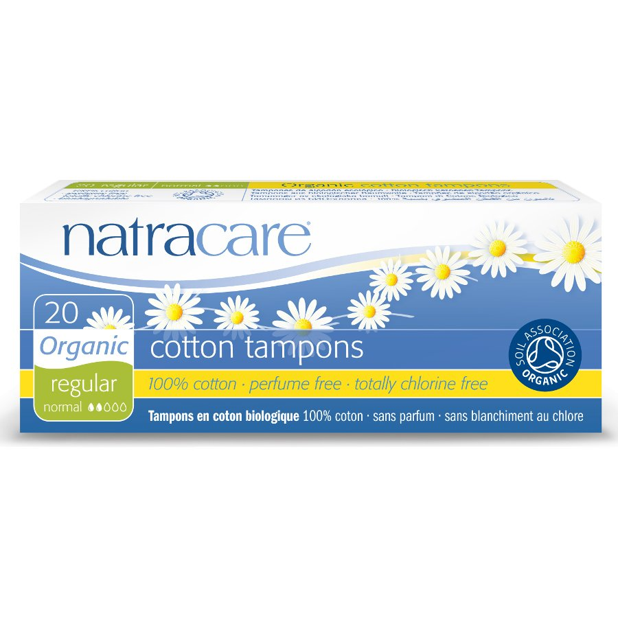 Natracare Cotton Regular Tampons (20 Pack)