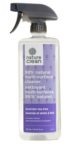 Nature Clean Multi-Surface Cleaner Lavender Tea Tree (740ml)