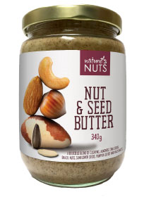 Nature's Nuts Nut & Seed Butter (340g)