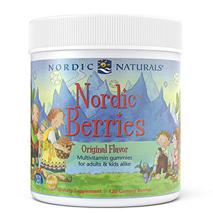 Nordic Natural Nordic Berries Multivitamin Gummies (120 Count)