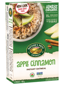Nature's Path Apple Cinnamon Hot Oatmeal (8 Packets)