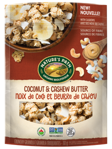 Nature's Path Coconut & Cashew Butter Granola (312g)