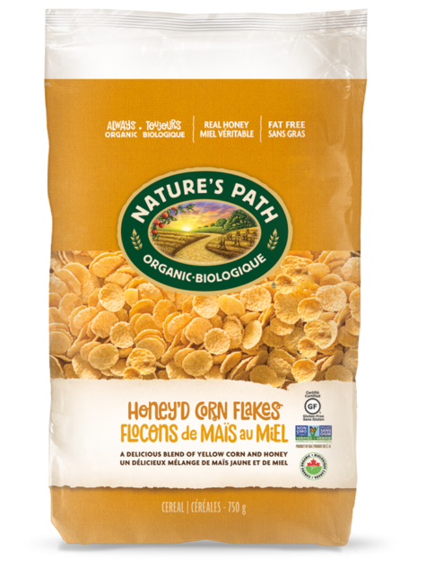 Nature's Path Honey'd Corn Flakes (750g)