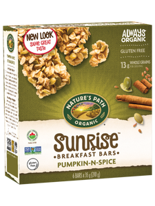 Nature's Path Pumpkin-N-Spice Granola Bars (210g)