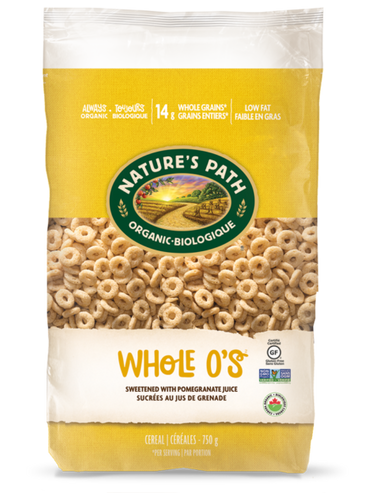 Nature's Path Whole O's Cereal (750g)