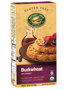 Nature's Path Buckwheat Wildberry Waffles (6 pack)