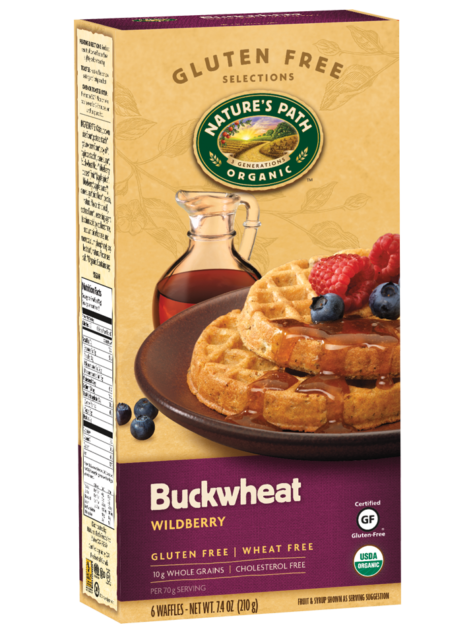 Nature's Path Buckwheat Wildberry Wafles (6 pack)