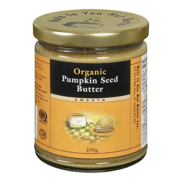 Nuts To You Organic Smooth Pumpkin Seed Butter (250g)