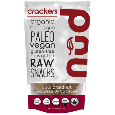 Nud Fud Raw BBQ Crackers (66g)