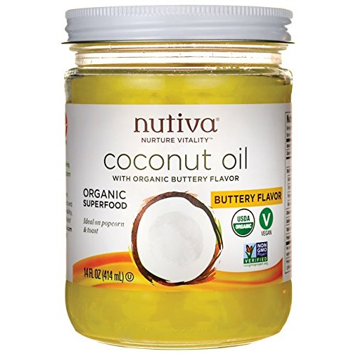Nutiva Coconut Oil Vegan Buttery Spread (414ml)