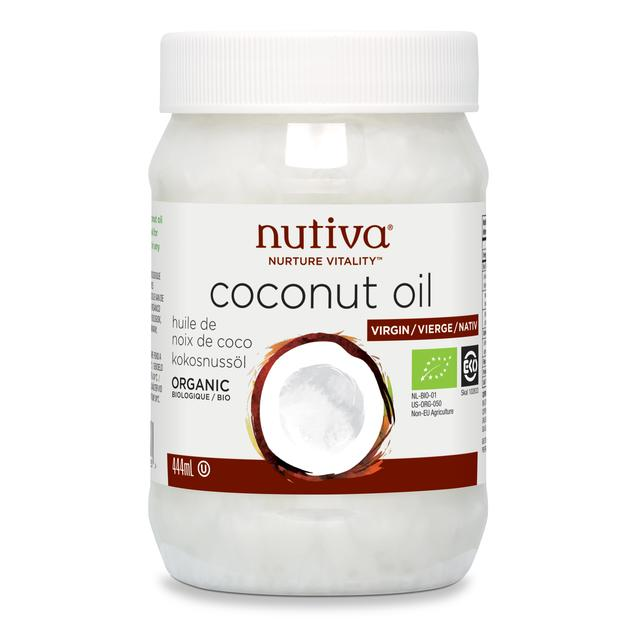 Nutiva Organic Coconut Oil (444ml)