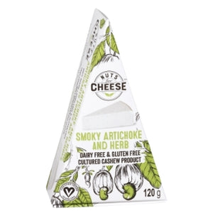 Nuts for Cheese Smoky Artichoke and Herb (120g)