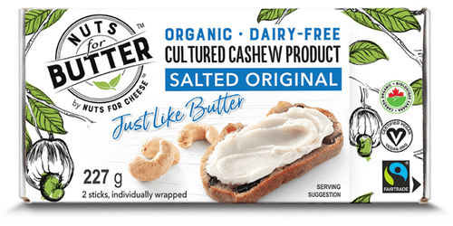 Nuts For Butter Cultured Cashew Salted Original (227g)