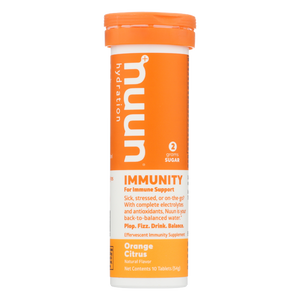 Nuun Immunity Orange Citrus (10 Tablets)